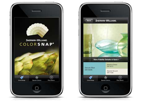 Color Snap app by Sherwin-Williams