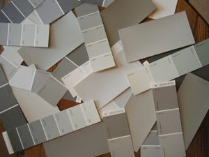 Neutral Paint Chips