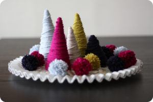 more yarn trees 300x200 - Creative Holiday Decor