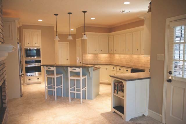 Houston Client Kitchen Reno-Nomadic Desert Sherwin-Williams