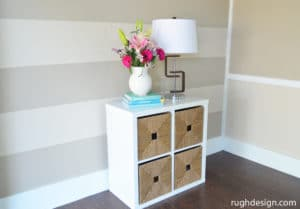 Balanced Beige with China Doll stripes
