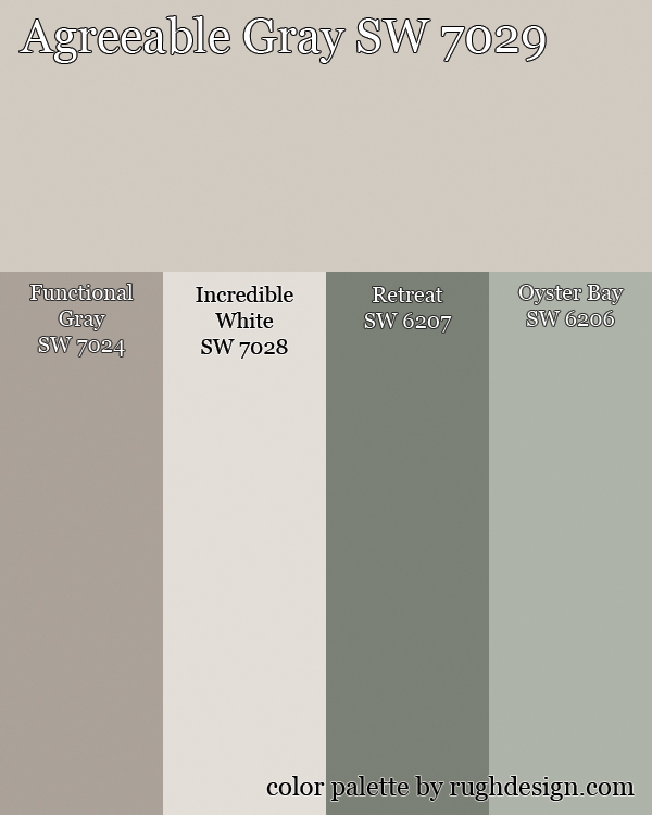 Agreeable Gray Complementary Palette