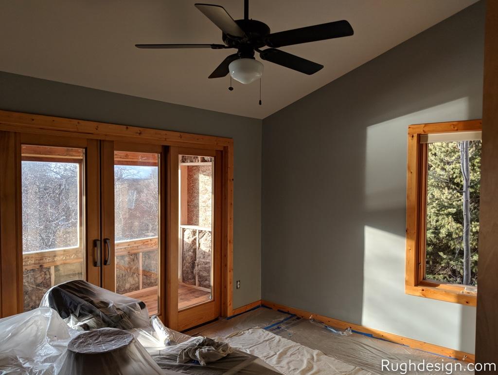 Mindful Gray SW 7016 Office Space - Portfolio