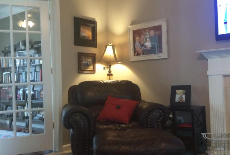 Balanced Beige Living Room