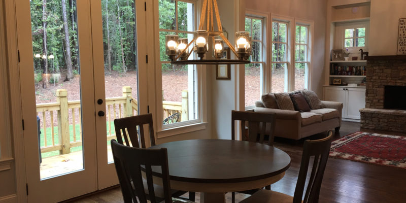Agreeable Gray SW 7029 in dining room