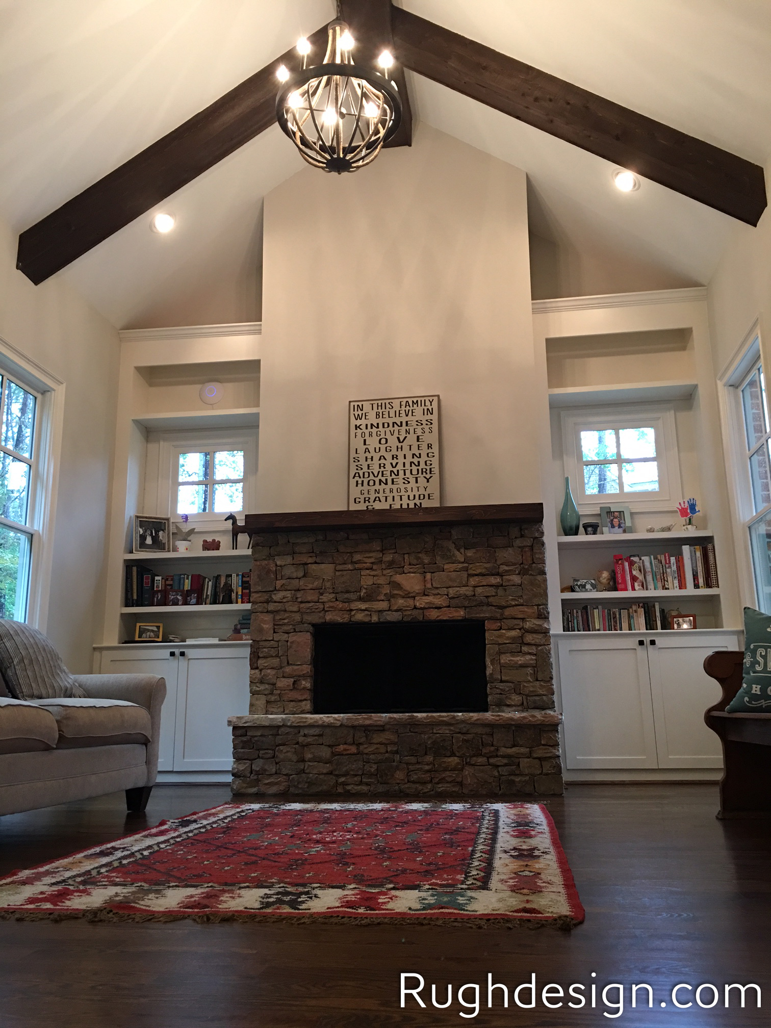 Agreeable Gray SW 7029 in living room