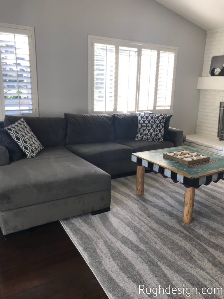 Agreeable Gray SW 7029 in family room