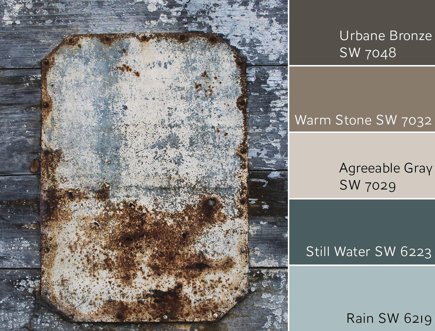 Urbane Bronze SW 7048 Complementary Color Scheme