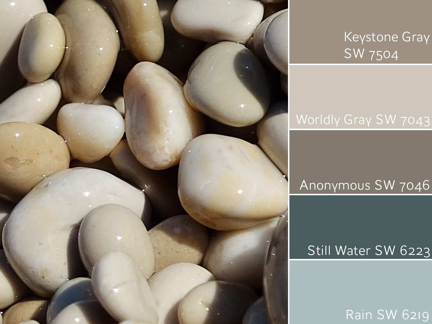 Keystone Gray SW 7504 Complementary Colors