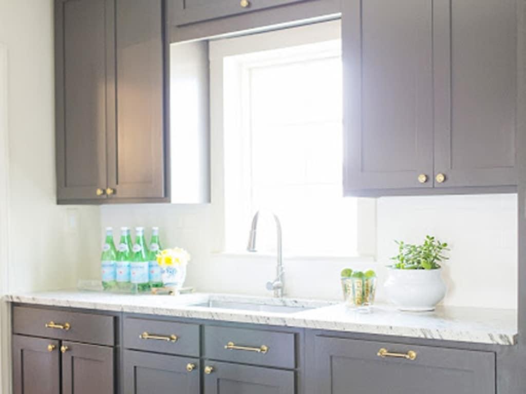 Urbane Bronze SW 7048 Kitchen Cabinets