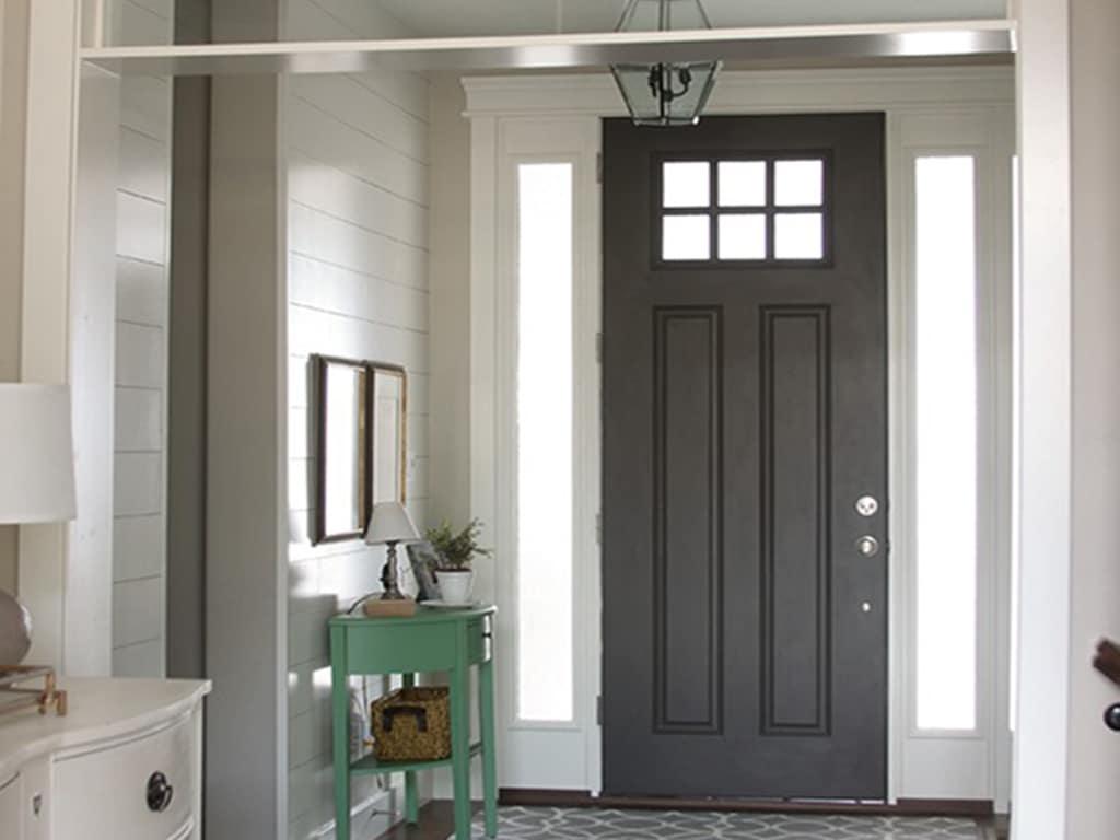 Urbane Bronze SW 7048 Front Door by 320 Sycamore Blog