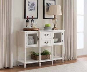 Wood Buffet Sideboard Cabinet Console Table