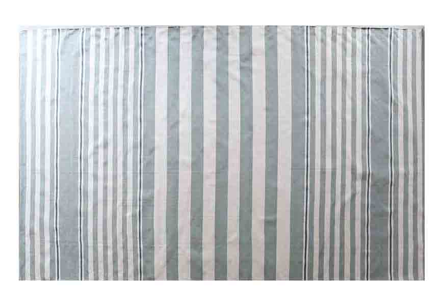 Beckham Stripe Light Blue Rug from Rachel Ashwell