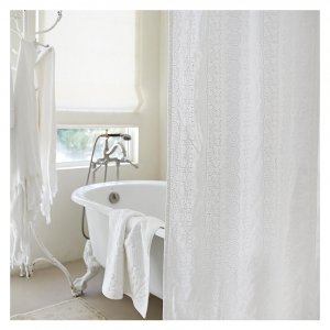 Boho Embroidered Shower Curtains from Rachel Ashwell