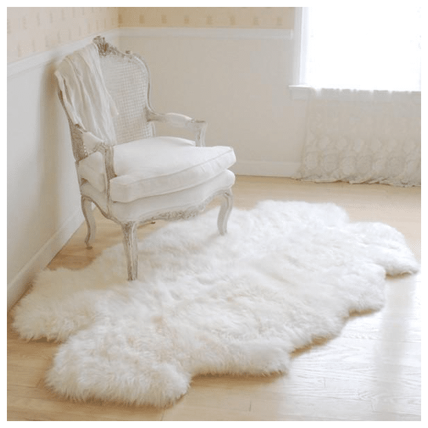 Sheepskin Throw Rugs from Rachel Ashwell
