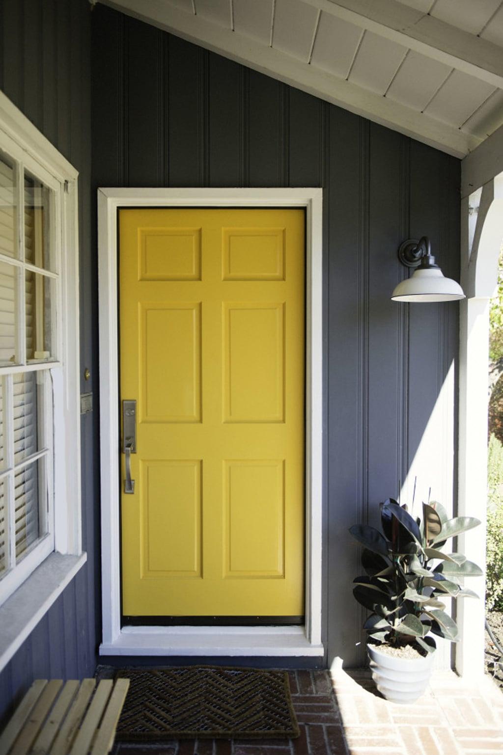 Goldenrod SW 6677 as front door