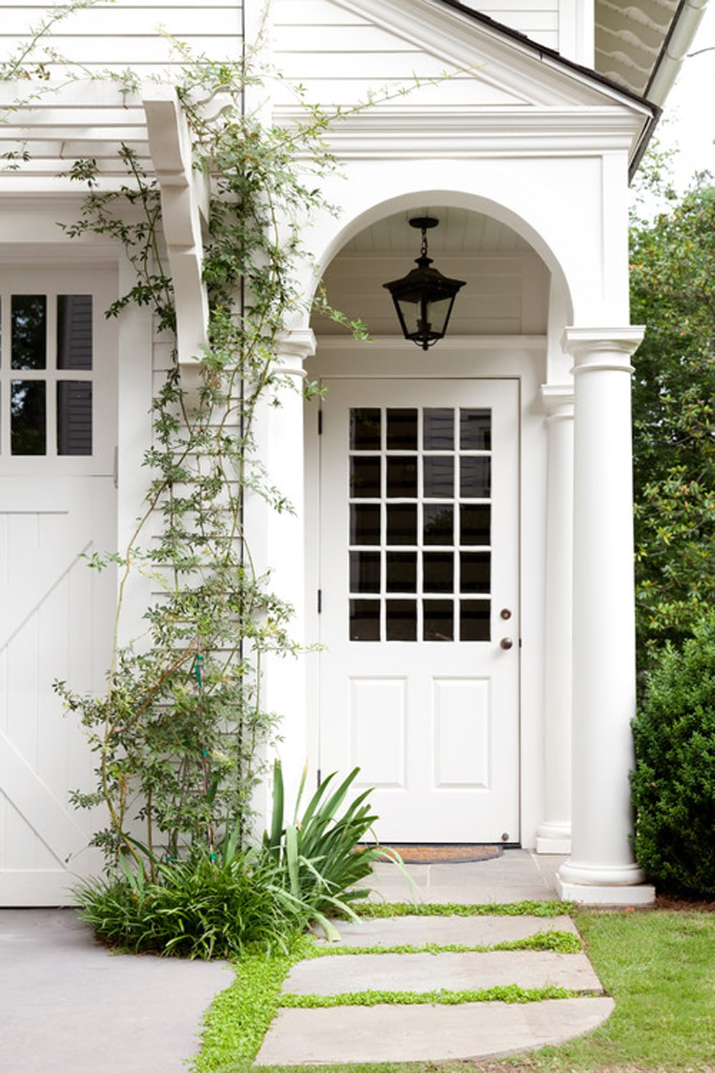 White front door from TS Adams Studio