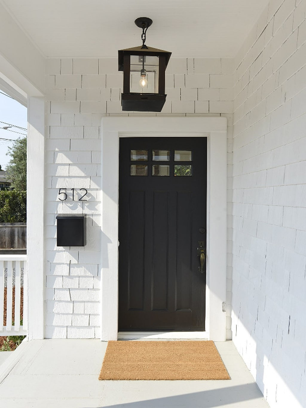 Tricorn Black front door from Home Bunch