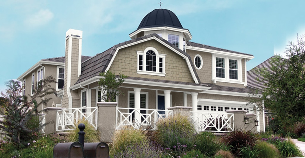 Perfect Greige SW 6073 as main exterior color.