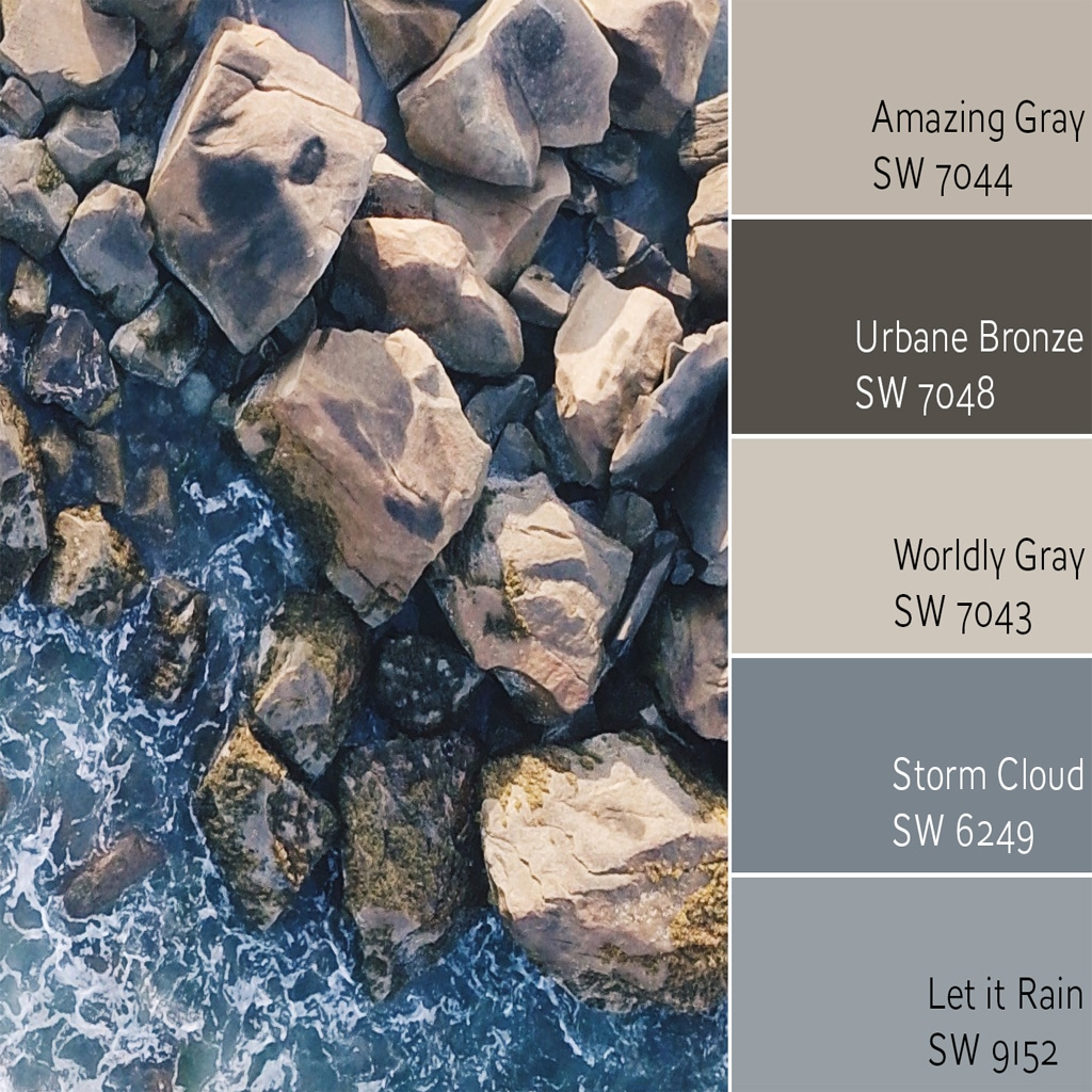 Color Wheel Update Amazing Gray Sw 7044 Review Rugh Design