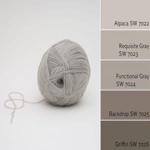 Alpaca SW 7022 Monochromatic Color Scheme