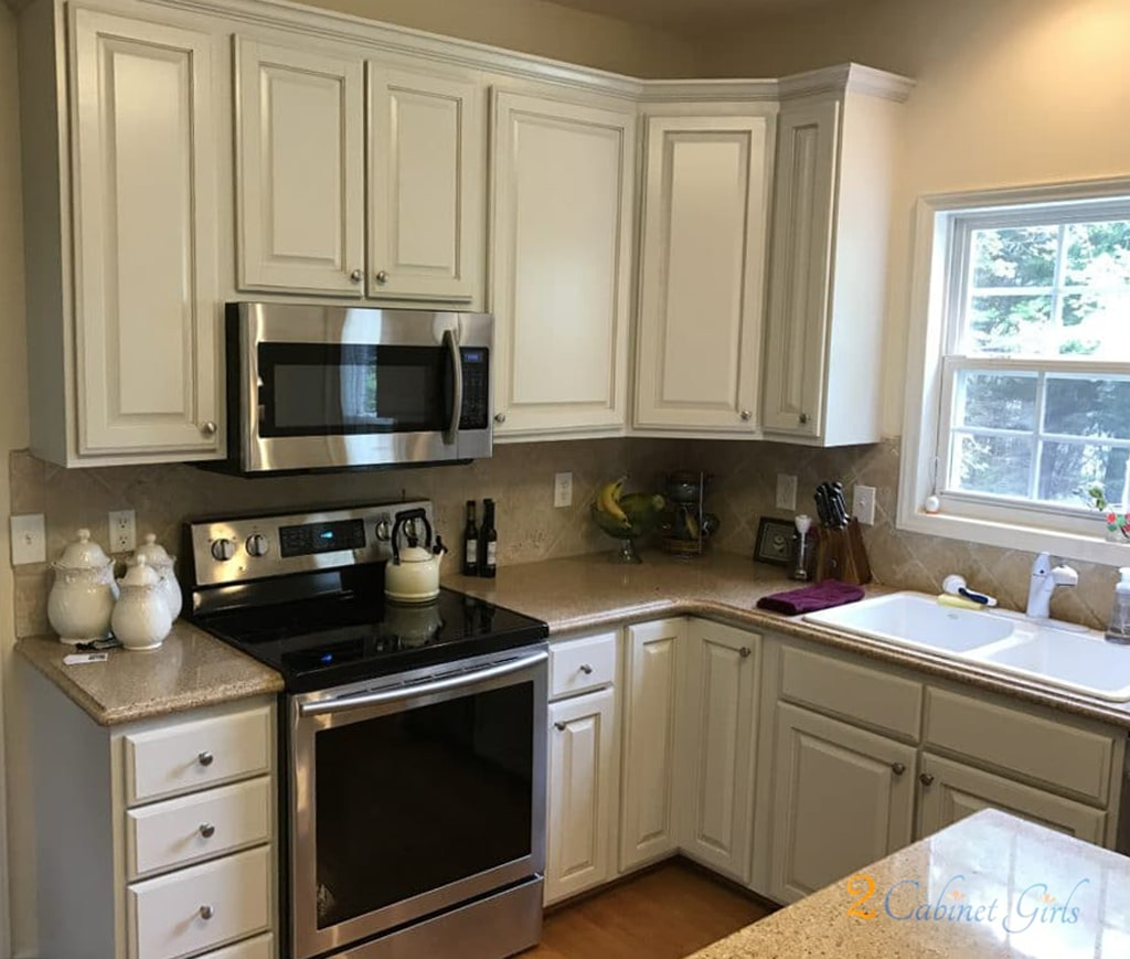 Agreeable Gray On The Main Kitchen Cabinets By 2 Cabinet S