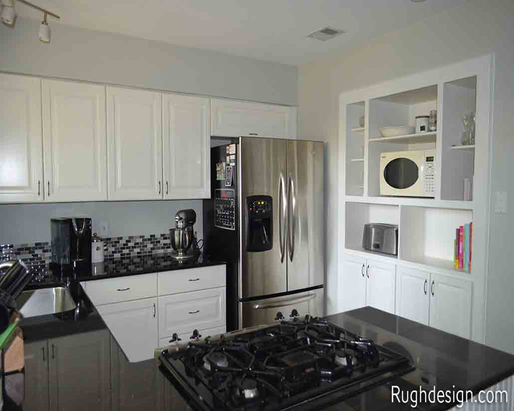 Extra White on my kitchen cabinets - 30 Cabinet Colors that will Rejuvenate your Kitchen
