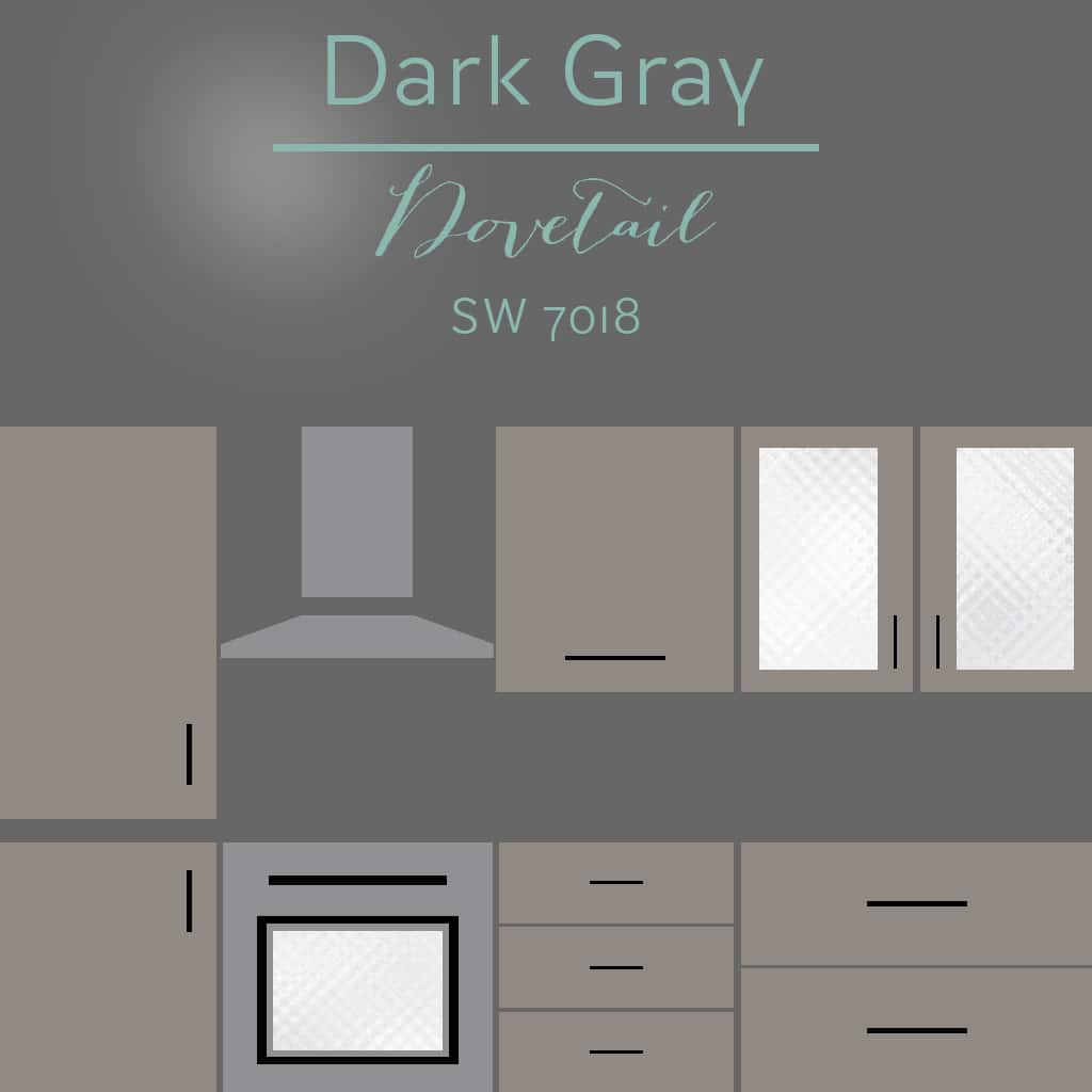 dovetail cabinets - 30 Cabinet Colors that will Rejuvenate your Kitchen