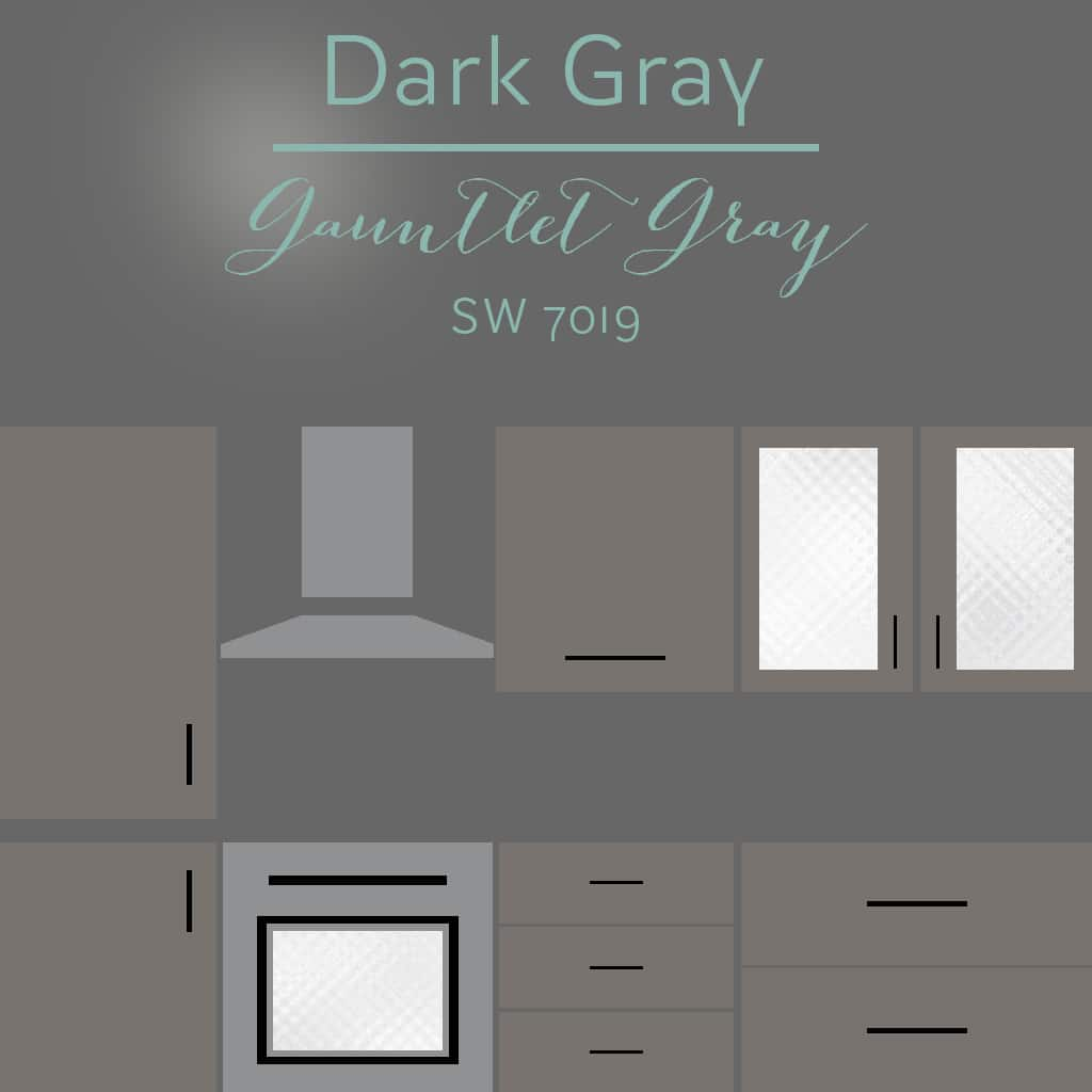 gauntlet gray cabinets