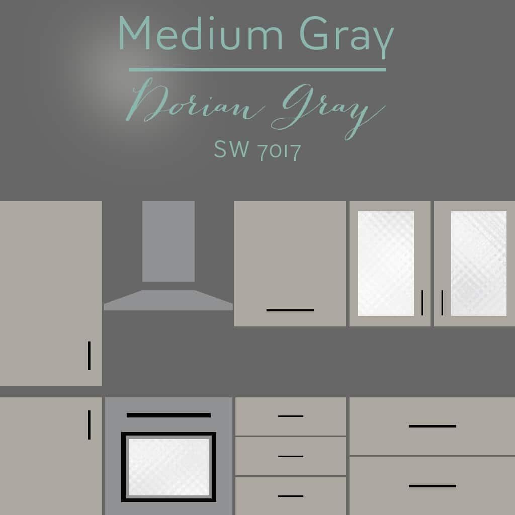 dorian gray cabinets