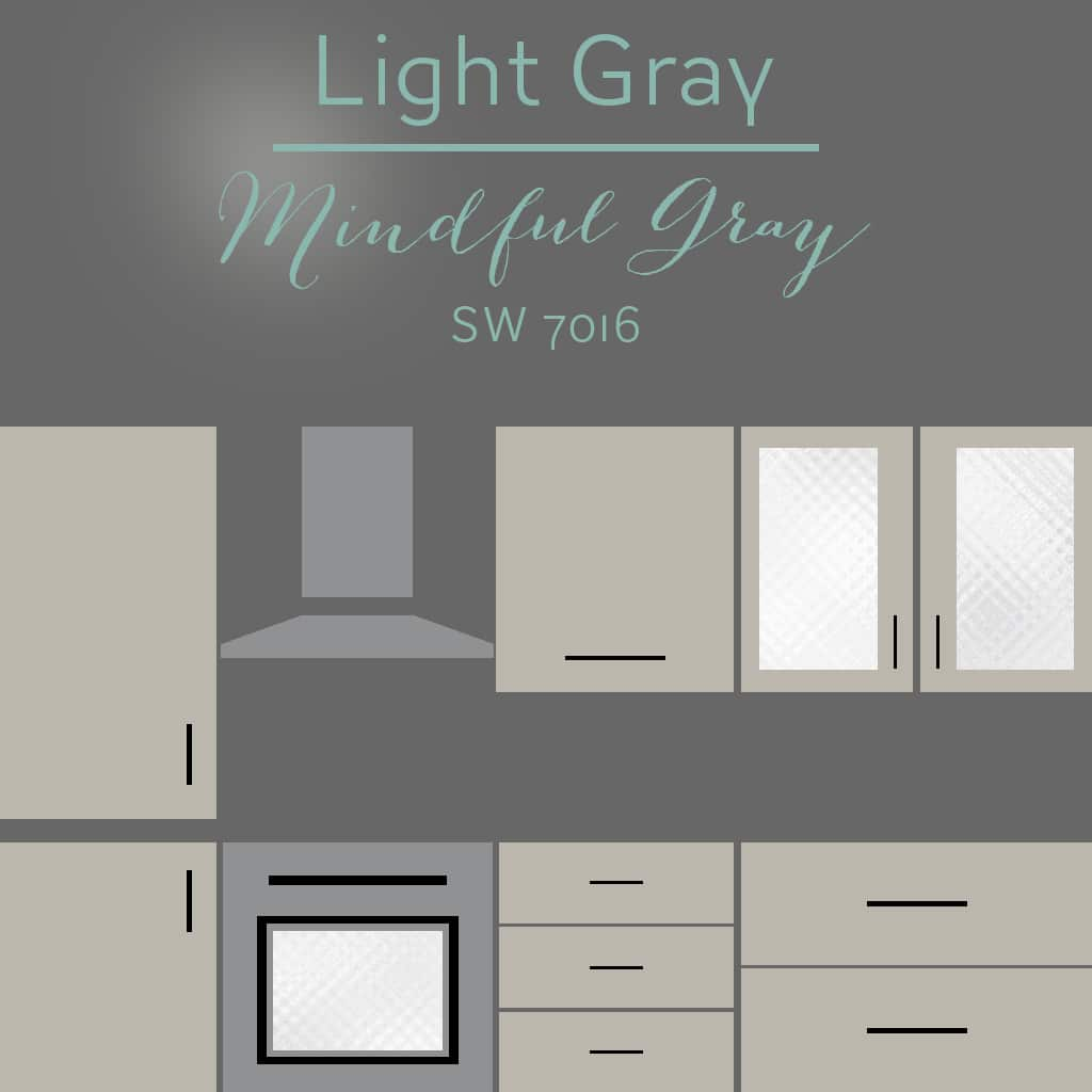 mindful gray cabinets