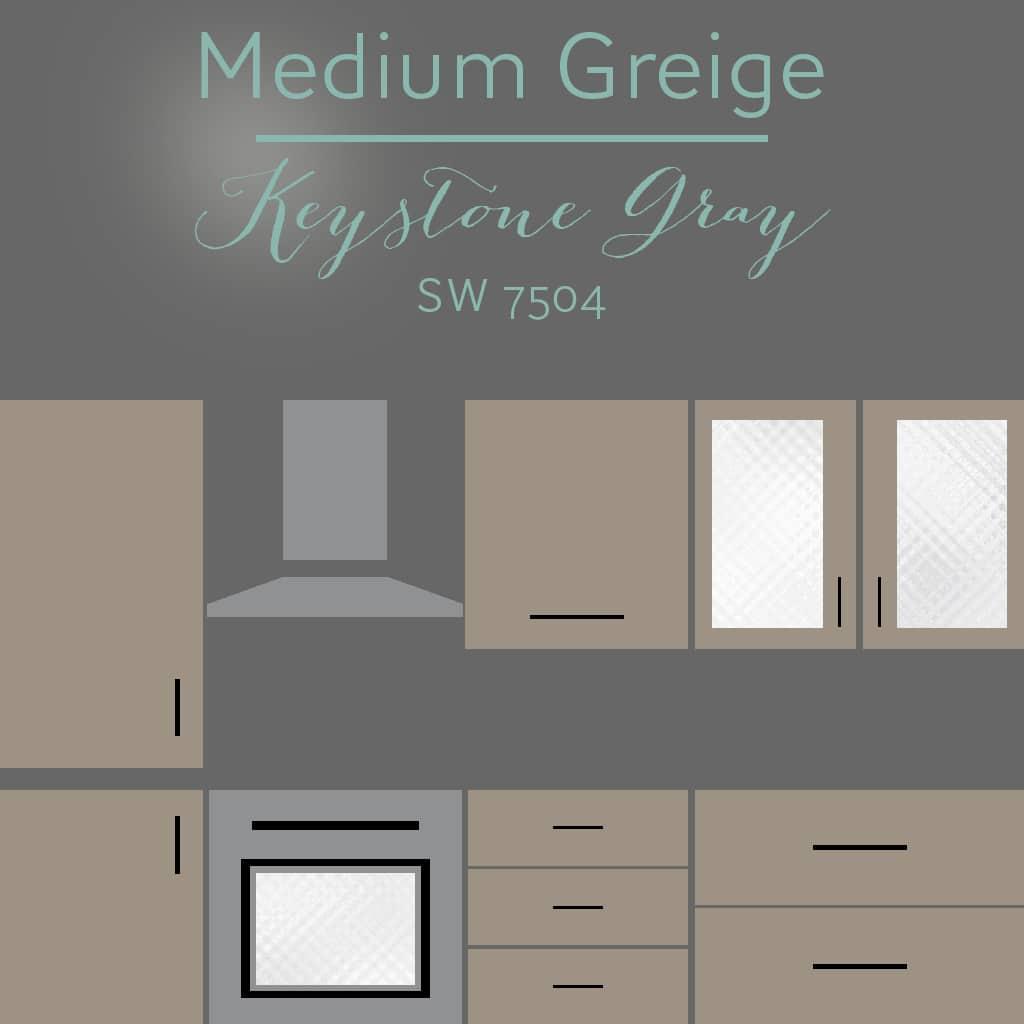 keystone gray cabinets