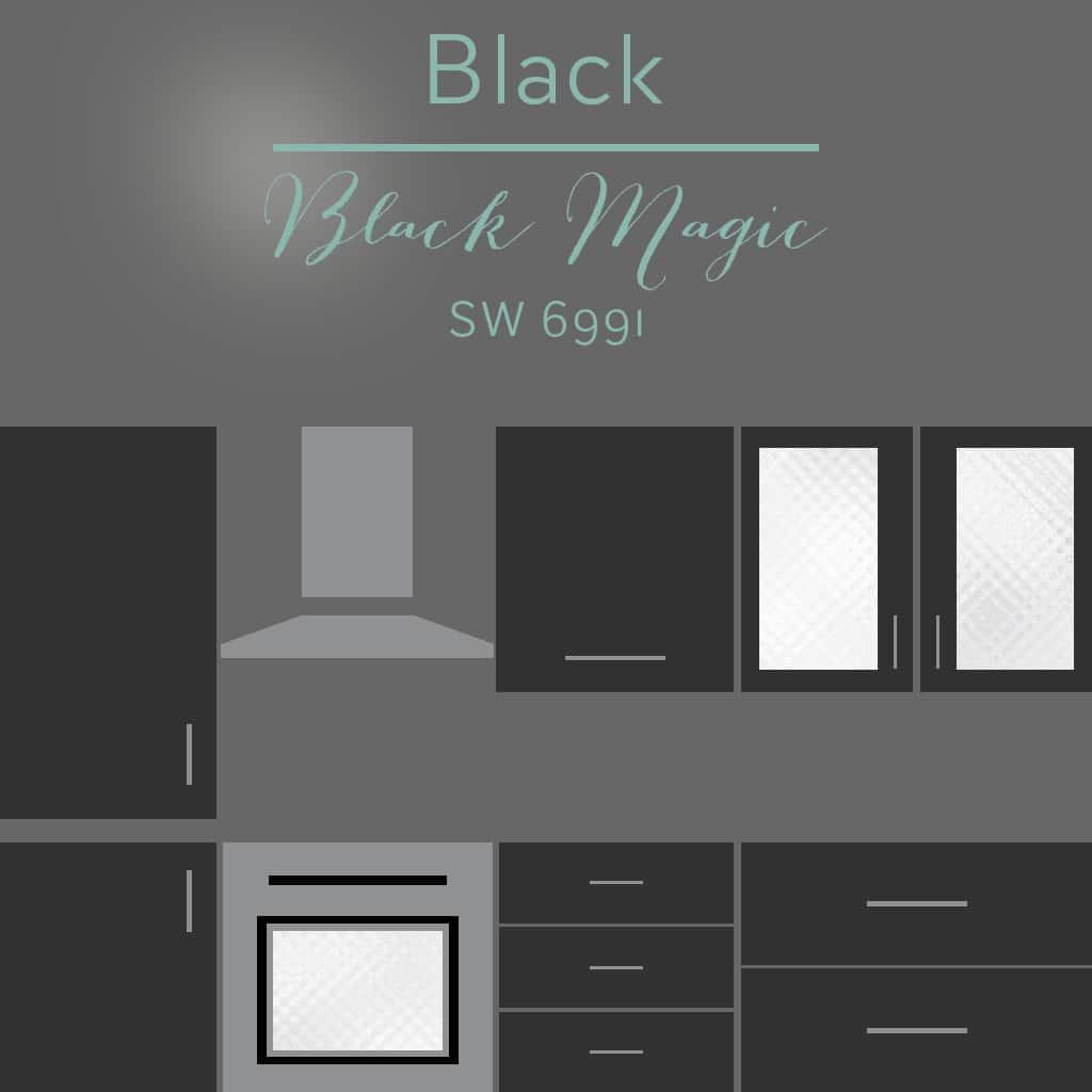 black magic cabinets