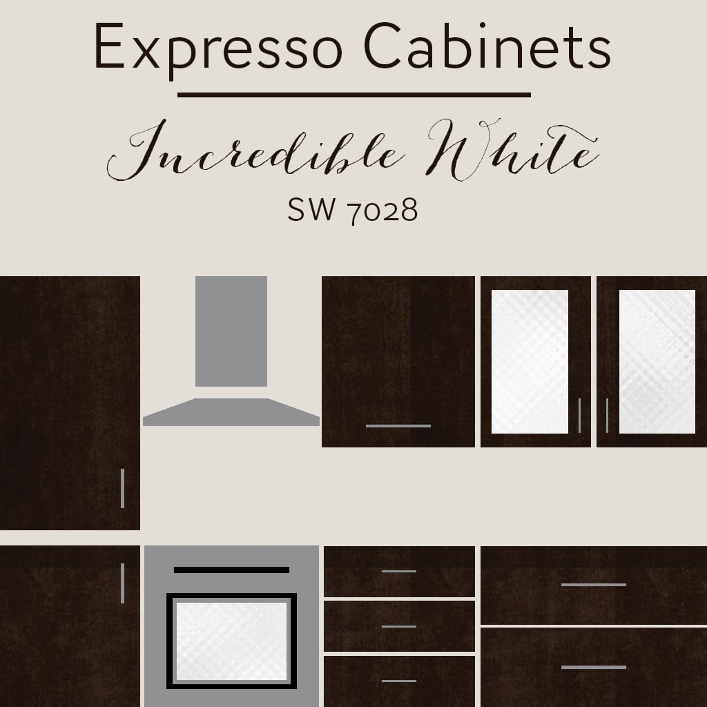incredible brown color kitchen cabinets | The Best Wall Colors To Update Stained Cabinets | Rugh Design