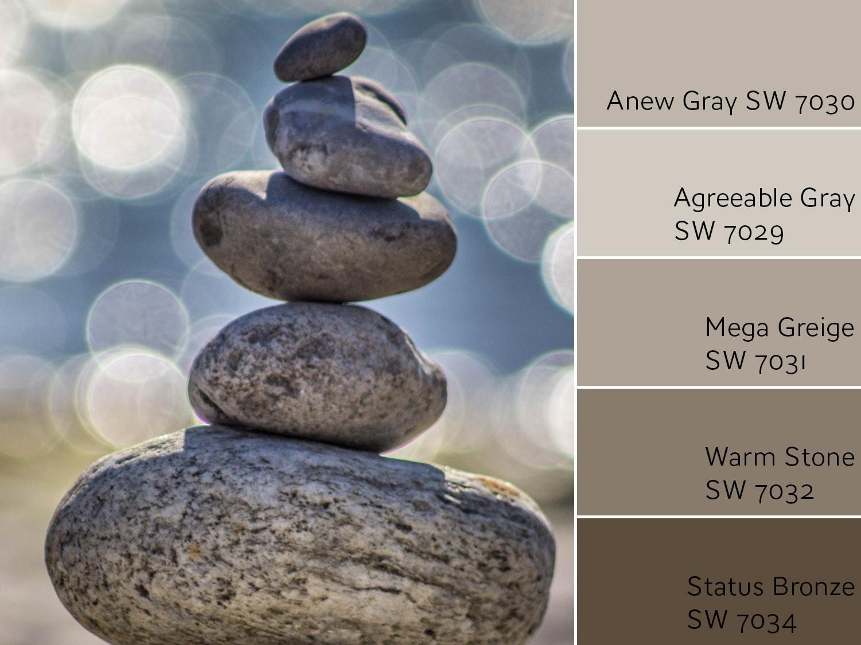 Anew Gray Monochromatic Color Scheme - Color Wheel Update: Anew Gray