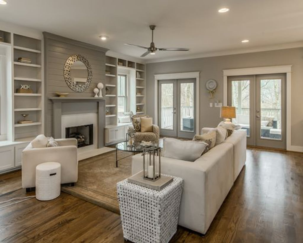 Colonnade Gray in a monochromatic scheme by Marilyn Kimberly Hill