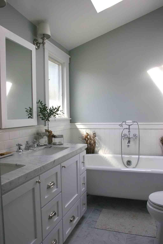 Lazy Gray in a bathroom by Fiorella Design
