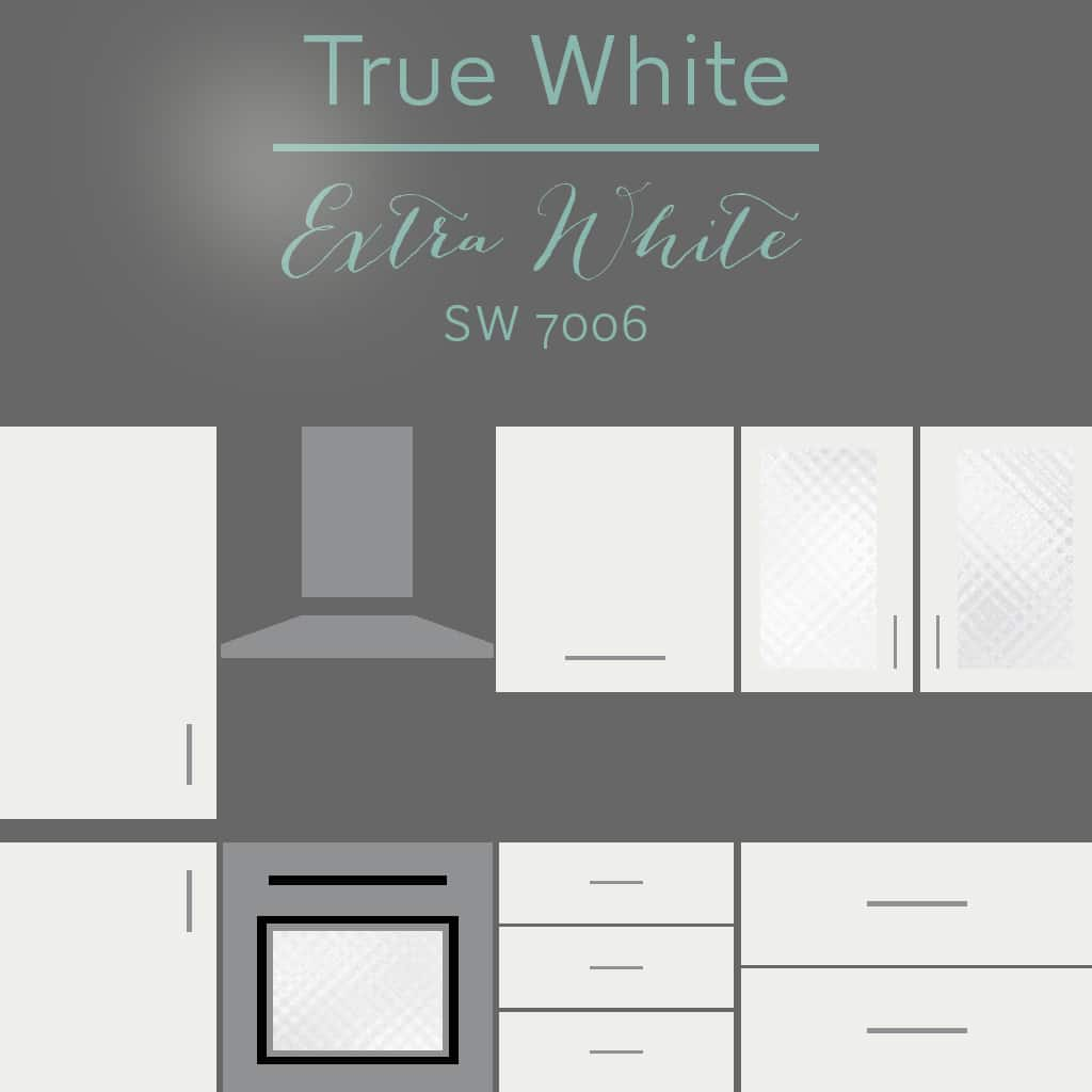 extra white cabinets