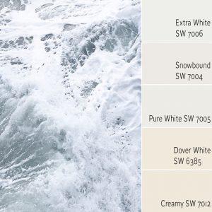 Extra White SW 7006 Monochromatic Color Scheme