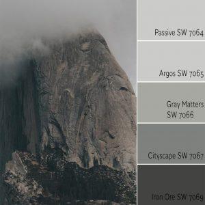 Passive SW 7064 Monochromatic Color Scheme