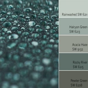 Rainwashed SW 6211 Monochromatic Color Scheme