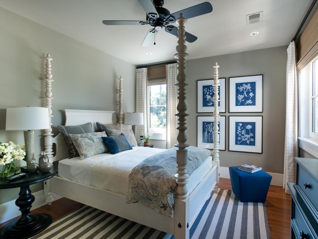 Bedroom in Fawn Brindle from HGTV Smart Home