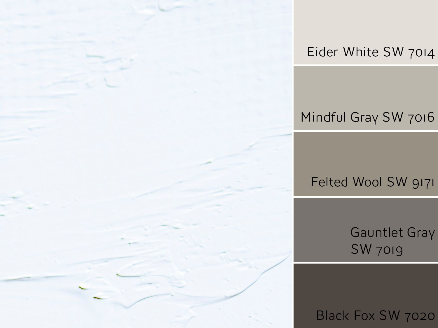 Eider White Monochromatic Color Scheme - Color Wheel Update: Eider White