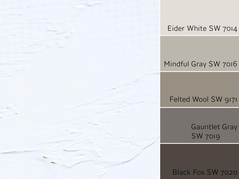 Eider White SW 7014 Monochromatic Color Scheme