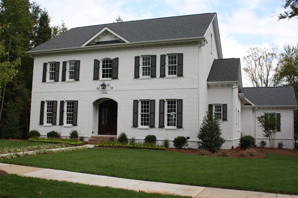 Exterior main body in Eider White by Artisan Custom Homes - Color Wheel Update: Eider White