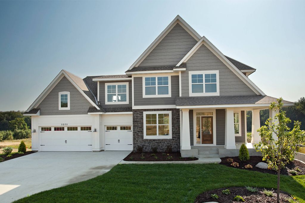 Exterior main body in Gauntlet Gray by Robert Thomas Homes.
