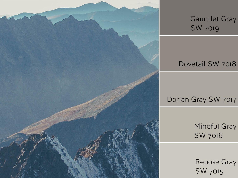 Gauntlet Gray Monochromatic Color Scheme