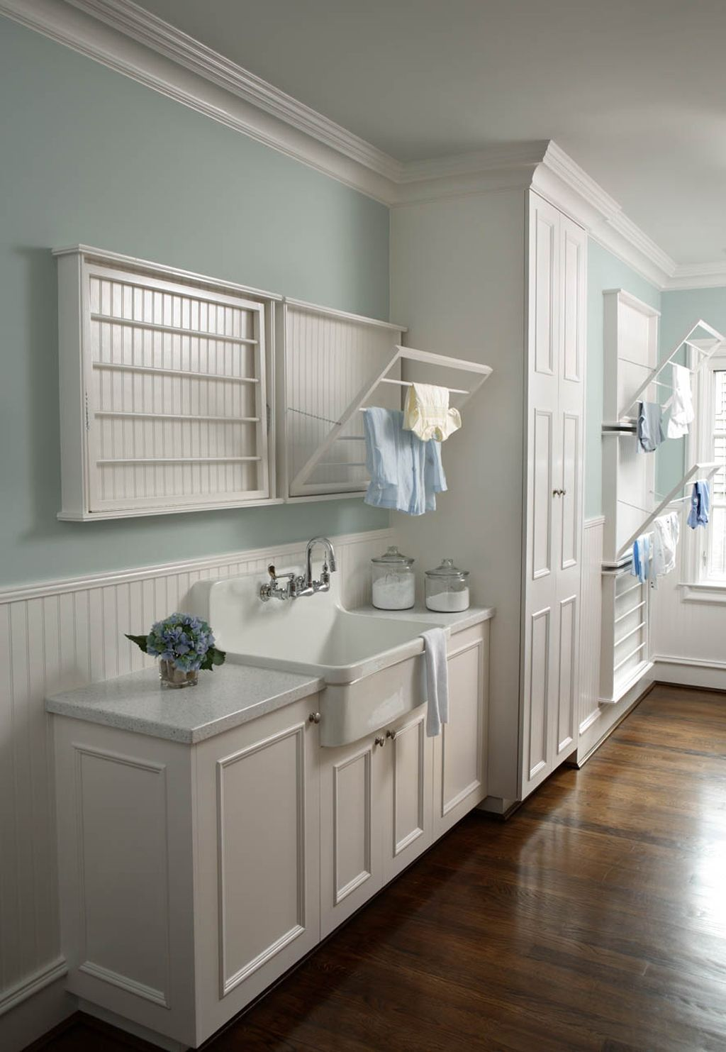 Laundry Room in Rainwashed also by Raubaut Design Associates. Chis Little Photography.