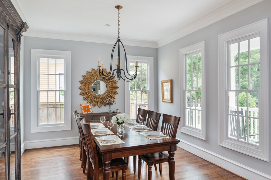 Passive in dining room by Whitestone Builders