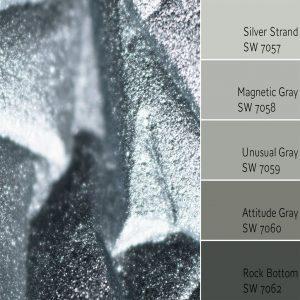 Silver Strand Monochromatic Color Scheme